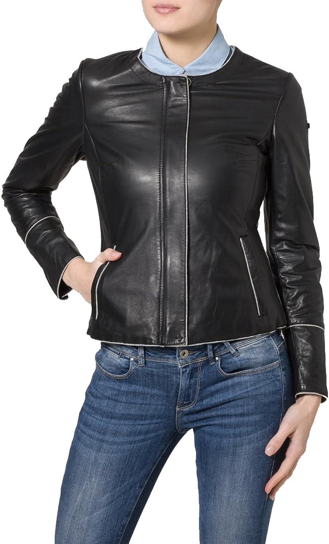 Brand New Genuine Soft Lambskin Leather Jacket For Women's Designer Wear LFWN141