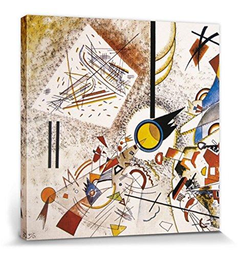 1art1 Wassily Kandinsky - Ohne Titel, 1923 Bilder Leinwand-Bild Auf Keilrahmen   XXL-Wandbild Poster Kunstdruck Als Leinwandbild 70 x 70 cm