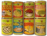 New Comic Looney Soup stick on (8 Labels) kitchen gag prank by unbrand