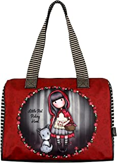 65ecebf3dc Santoro Gorjuss Sac à main Little Red Riding Hood Sac baril 41 x 26 x 9
