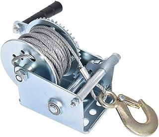 Heavy Duty Hand Winch Strap Webbing Manual Boat//Car Trailers Strap Marine Puller