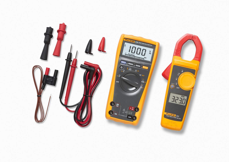 Fluke 55% OFF FLUKE-179-2 IMSK Industrial Multimeter 185 Kit Max 84% OFF mm Service