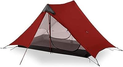 Tokyo Cold-Tents 2018 Lanshan2 3F Ul Gear 2 Person Outdoor Ultralight Camping Tent 3 Season Professional 15D Silnylon Rodless Tent 4 Season