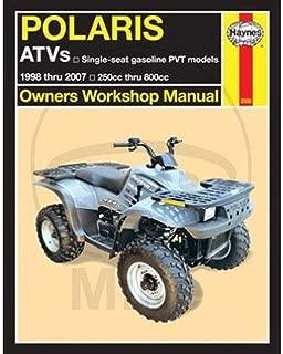 Haynes 2508 Manuals Polaris ATV'S PVT 93-03