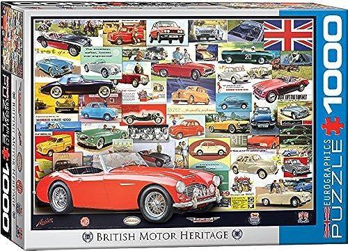 EuroGraphics British Motor Heritage (1000 Piece) Puzzle by EuroGraphics