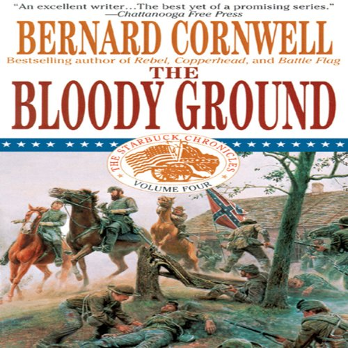 Bloody Ground audiobook cover art