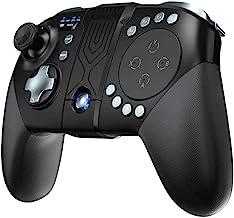 Nologo Xjdmg Mobile Dispositivo de Juego, Gamepad inalámbrico Compatible for MOBA/FPS Bluetooth Recargable Mando Gamepad inalámbrico