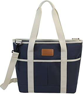 HappyPicnic 16L Large Insulated Bag | 25CAN Waterproof Cooler Carrier Bag| Thermal Picnic Tote | Lunch Bags for Outdoor Camping,Beach Day or Travel | Collapsible Grocery Shopping Storage Bag