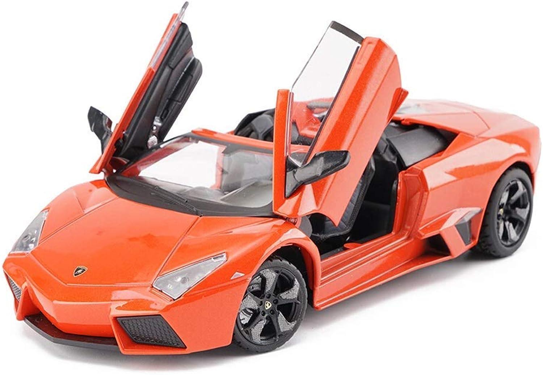 KKD Scale Model Simulation Vehicle Model Car Lamborghini Reventon