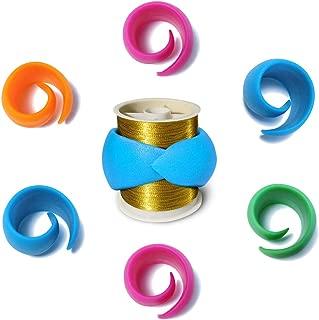 48 Pieces YEQIN Bobbin Holder//Clamp Thread Control Clamp Organizer Holder
