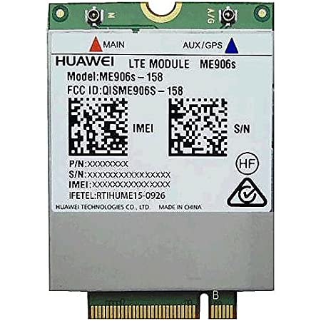 Lenovo Thinkpad Huawei Me906s 4g Lte Wwan Mobile Computers Accessories