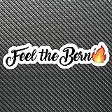 Feel The Bern Sticker Decal Custom Vinyl Democrat President Bernie Sanders 2020