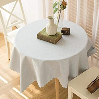 Modern Simple Nordic Style Tablecloth Cotton Linen Breathable for Table Cloth Dust Proof? Cover Protector Beige 140×220cm