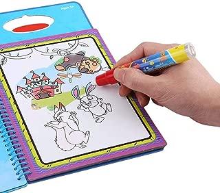 Alfombra de Estera de Dibujo de Agua Juguetes educativos Coloridos y Regalo Ideal para ni/ños y ni/ñas Tnfeeon Agua Dibujo Pintura