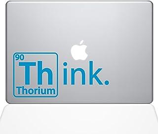 "The Decal Guru Think Thorium Macbook Decal Vinyl Sticker  - 13"" Macbook Pro (2016 & newer) - Light Blue (1254-MAC-13X-LB)"