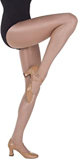 Body Wrappers Womens Ultimate Shimmer Footed Tights - A55