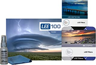 LEE Filters LEE100 77mm Big Stopper Kit - LEE100 Holder, 100mm Big Stopper, 77mm Wide Angle Ring