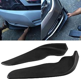 Rosso KKmoon Universale Protettore del paracolpi del Chin Splitter per paracolpi Anteriore in Fibra di Carbonio per Auto