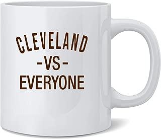 Poster Foundry Cleveland vs Everyone Ohio Sports Fan Coffee Mug Tea Cup 12 oz