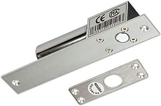 NC DC 12V, ZOTER Electric Drop Bolt Door Lock Deadbolt Strike Fail-Safe Mode