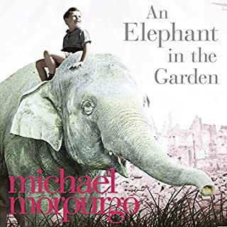 An Elephant in the Garden audiobook cover art