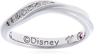 ESTELLE 钻石·红宝石铂银【迪士尼对戒/女士/WITH】 0191-0681-0017-0010 日本尺寸10号