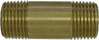 Watts LFA791 Pipe Nipple, 3/8-Inch MIP x 4-Inch