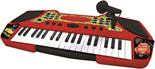 Lexibook Disney Pixar Cars 3 Lightning McQueen and Cruz Electronic Keyboard with Microphone, Light Effects, Record Your Pe...