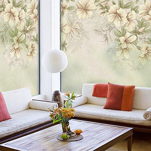 Milchglas-Aufkleber für Fenster, Balkon, Fenster, elektrostatisch, Glas, Sonnenschutz, Wärmedämmfolie, 58 cm x 90 cm, mit Gummi, individuelle Größe (54 Yuan/Quadratmeter)