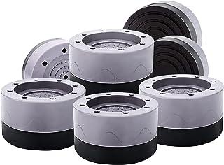 GZLCEU Lot de 8 coussinets de protection en caoutchouc pour machine à laver, sèche-linge, réfrigérateur, meubles (68 x 40 mm)