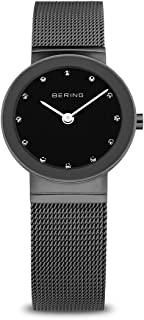 BERING Women's Analogue Quartz Watch with Stainless Steel Strap 10126-077