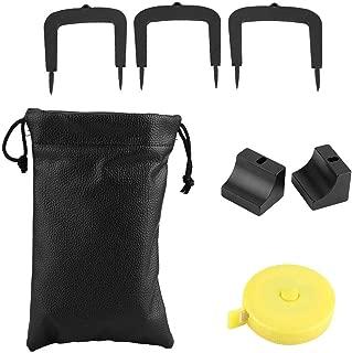 VGEBY1 Golf Putter Set, Exquisite Aluminum Alloy Golf Training Aid Set for Golf Lover Beginner Putting Kit Accessories