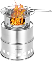 wood camping stove portable