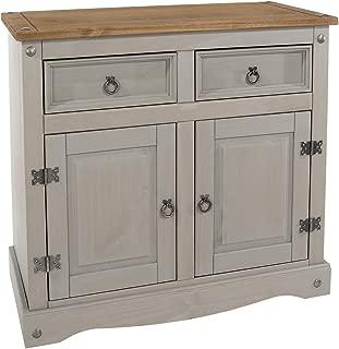 Wood Buffet Sideboard Corona Gray