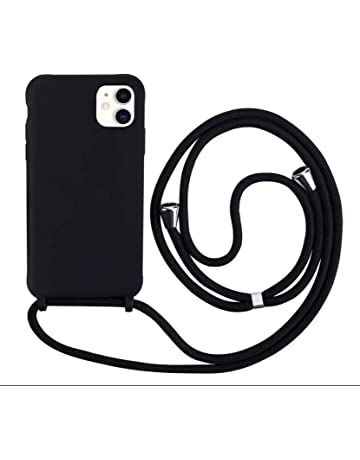 Ptny Case Funda Colgante movil con Cuerda para Colgar Xiaomi Redmi 5A Carcasa Correa Transparente de TPU con Cordon para Llevar en el Cuello con Ajustable Collar Cadena Cord/ón Color del Arco IRI