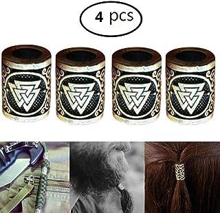 NKlaus 925 STERLING SILVER Barbe et ornements de cheveux gothiques vikings Aventia 7136