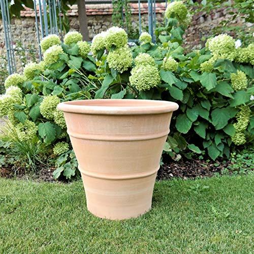 Céramique de Crète | Jardinière en terre cuite faite à la main en Crète haute qualité et antigel | Terrasse balcon jardin | Différentes tailles (50 cm) de yucca