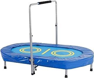 BIAOYU Studsmatta mini trampolin med skumhandtag bar färgglad liten studsmatta fitness studsmatta för barn vuxna inomhus o...