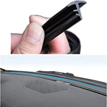 AUTOXON 160cm Edge Trim Rubber Seal Protector Guard Strip For The Space Between Dashboard and Windshield of Cars S for size
