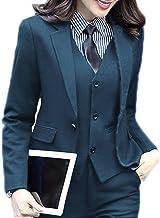 JYDress Women's 3 Piece Elegant Formal Business Lady Office Suit Set Work Wear