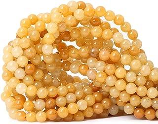 yellow jade beads