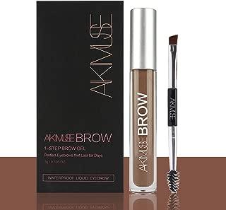 Long Lasting Eyebrow Gel for Waterproof Eyebrow Makeup, Eyebrow Makeup kit Auburn Color