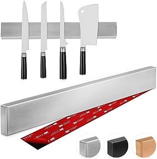 Thingles Barre à Couteaux aimantée de 40 cm I Porte-Couteaux Magnetique I Bandeau magnetique de Suspension pour Couteaux e...