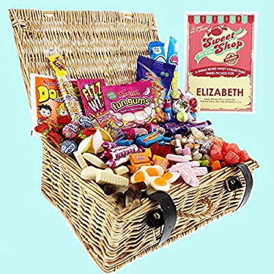 the gift experience retro sweet hamper The Gift Experience Retro Sweet Hamper 61fxKzRgtfL