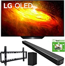 $1863 » LG OLED55BXPUA 55-inch BX 4K Smart OLED TV with AI ThinQ (2020) Bundle SN6Y 3.1 Channel High Res Audio Sound Bar + TaskRabbit Installation Services + Vivitar Low Profile Flat TV Wall Mount