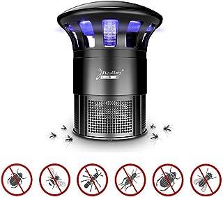 Fotocatalizador Lámpara para matar mosquitos, trampa para mosquitos Oficina en el interior Eléctrica USB LED Insecto asesino Mosquito Mosca Trampa para insectos Lámpara Colector Sin químicos Sin,Black