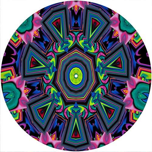 Slipmat Slipmat Filzmatte für alle 30,5 cm großen LP DJ Vinyl Plattenspieler Custom Graphical – Kaleidoscope 4