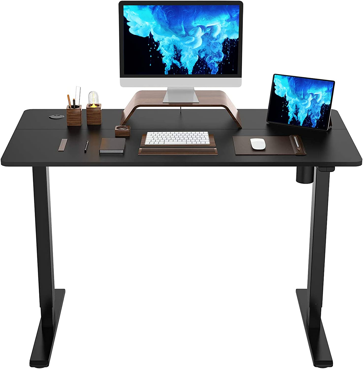 FlexiSpot Adjustable Height Electric Sit Stand Desk  $190  Coupon