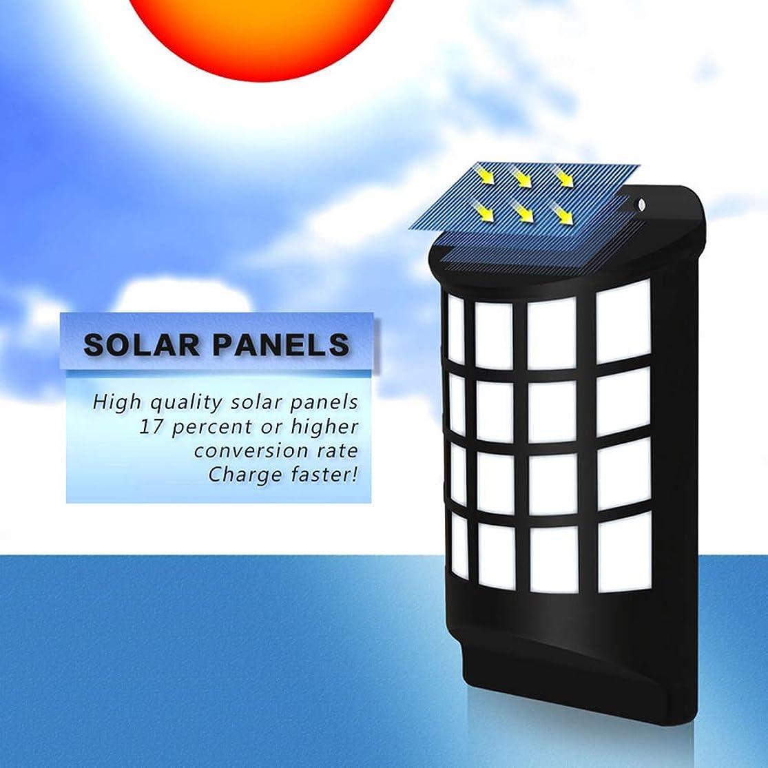 Wall Lights, Wall Lamps, yanQxIzbiu Motion Sensor 66LED Solar Powered Flickering Flame Wall Lamp Garden Yard Decor - Black kzwdznbx3