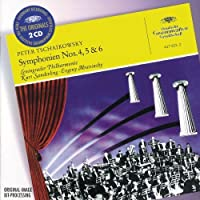 Symphonies Numbers 4, 5 and 6 by P.I. Tchaikovsky (1996-02-13)